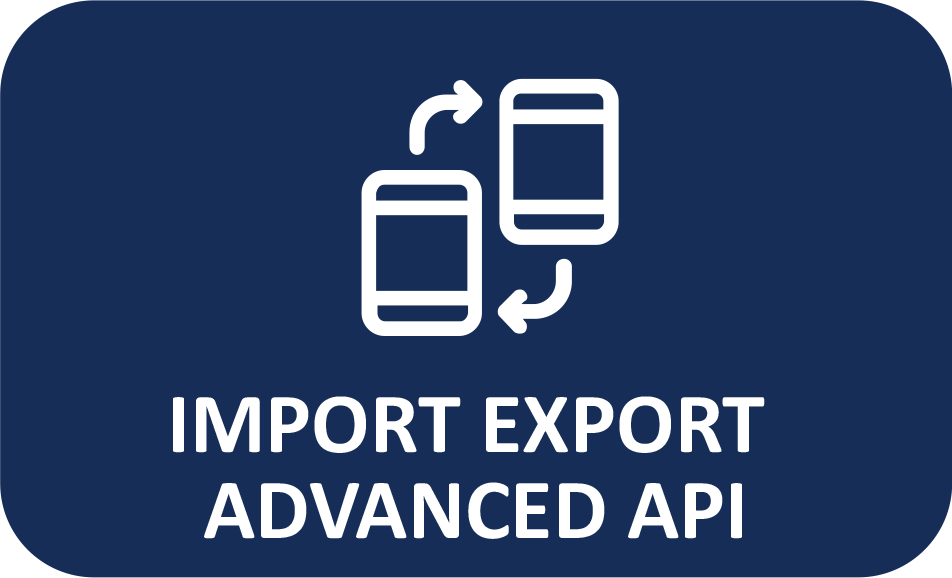 import export advanced api
