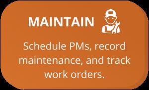 Maintenance Management Software CMMS